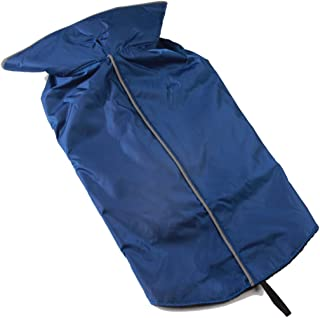 JoyDaog Fleece Lined Warm Dog Jacket for Winter Outdoor Waterproof Reflective Dog Coat