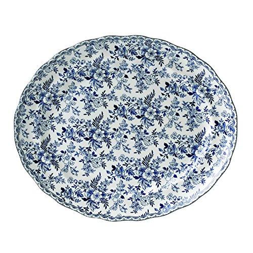 "Price comparison product image Johnson Brothers Devon Cottage 13.75"" Oval Platter,  Multicolored"