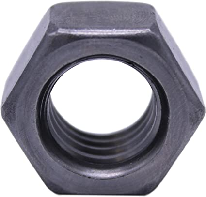 1//4-20 Hex Nut SAE J995 Grade 2 Plain Finish U-Turn 100 Count