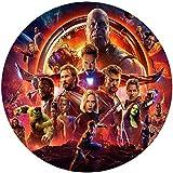 Fondant Tortenaufleger Tortenbild Geburtstag The Avengers T22