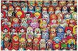 Matryoshkas muñecas rusas grandes rompecabezas de 500 piezas para adultos niños regalo de bricolaje rompecabezas de madera