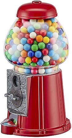 Balvi Machine à Bonbons American Dream Rouge Tirelire et Distributeur de  Bonbons, de Chewing Gum, de chocolats, de Fruits secs Fonctionne avec des  pièces Métal/Verre 23 x 11 x 12 cm: Amazon.fr: