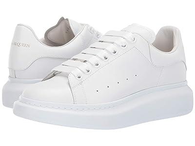 Alexander McQueen Oversized Sneaker (White/White) Men