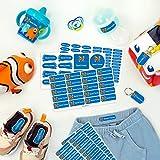 Pack de etiquetas para marcar la ropa, objetos, zapatos y mochilas de los...