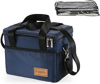TOMSHOO クーラーボックス 保冷バッグ 保温バッグ 断熱バッグ ソフト クーラーバッグ 折りたたみ式 お弁当箱 アウトドア 10L/18L/28L/37L/47L/74L保冷バッグ*1