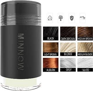 New Arrival MINNOW Hair Building Fibers,Keratin Hair Fibers Hair Loss Concealer For Thinning Hair Powder Volumizing Based,16grams/0.56oz (WHITE)