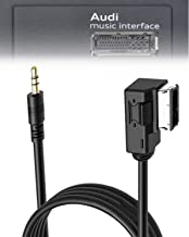 Best ELONN for Volkswagen Audi Accessories iPhone iPod Cellphone MP3 Aux Cable MDI AMI MMI Music Audio Interface Adapter - 6 Foot Extra Long Review