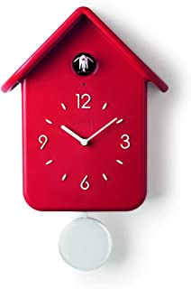 Guzzini, Horloge Coucou A/Pendule Qq, 24,8 x 12 x h39 cm