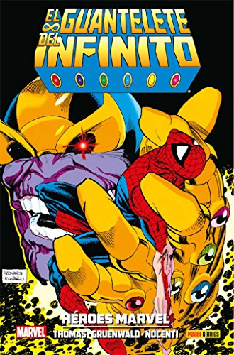 El Guantelete del Infinito. Héroes Marvel - Numero 5 (JIM STARLING)