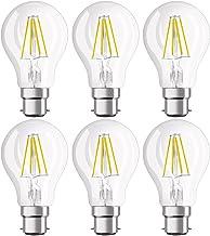 OSRAM LED Retrofit Classic A / LED lamp, Classic Bulb Shape: B22d, 4 W, 220…240 V, 40 W Replacement, Clear, Warm White, 27...