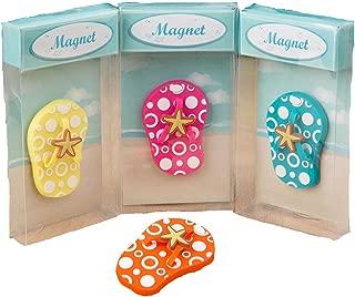 204 Colorful Flip Flop Magnets