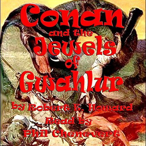 Conan and the Jewels of Gwahlur audiobook cover art