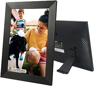 "Sylvania Digital Cloud Picture Frame 10"" Wi-Fi Frameo APP Control 8GB Storage with Micro USB Port & Micro SD Card Slot Com..."