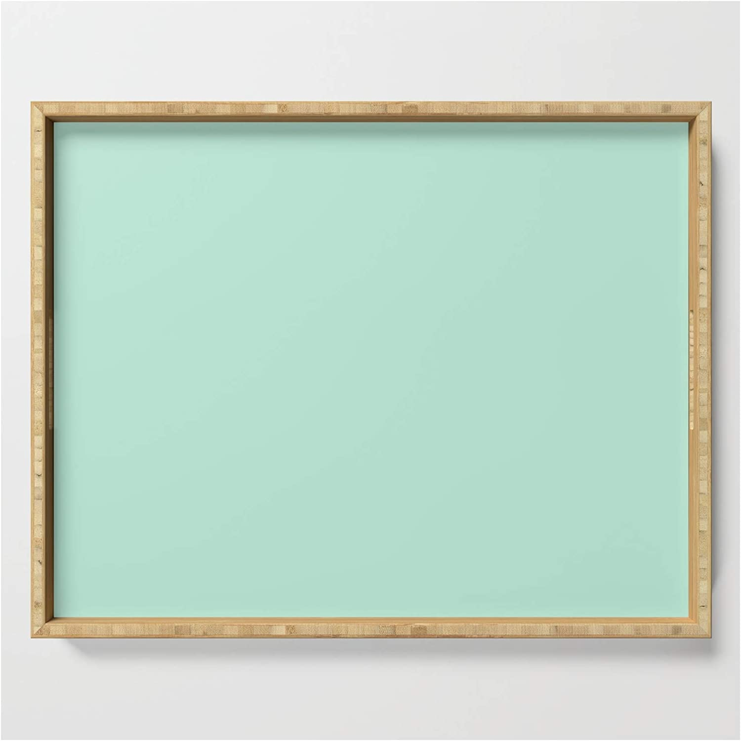 Simply Light Mint Green by Simple Luxe Serving Tray Our shop most popular on x 18