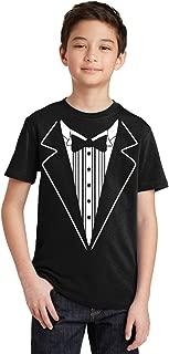 youth tuxedo t shirt
