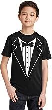 P&B Tuxedo White Funny Youth T-Shirt