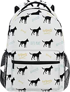 Stylish Belgian Malinois Backpack- Lightweight School College Travel Bags, Chunbb 16