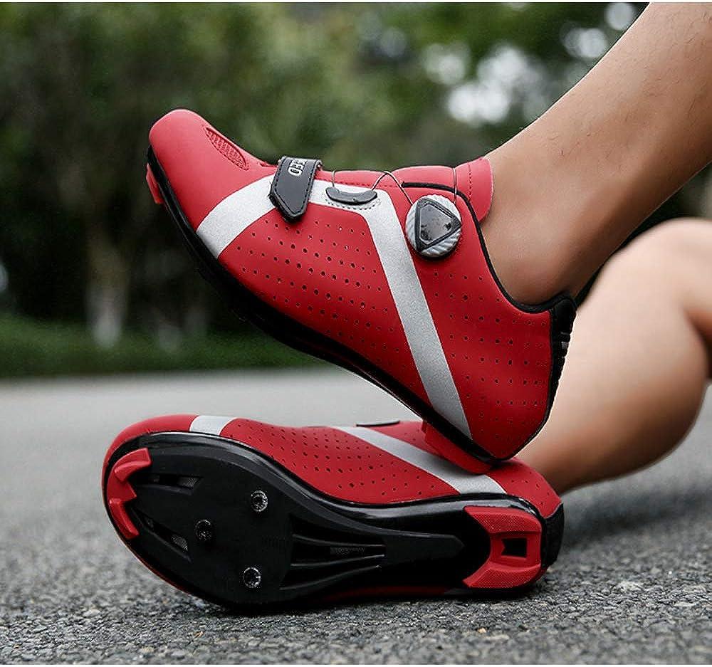 JKC Fahrradschuhe f/ür Herren Damen mit SPD Cleats Kompatibel Shimano Pedale Atmungsaktiv und Bequem MTB Fahrradschuhe