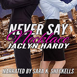 Never Say Necklace audiobook cover art