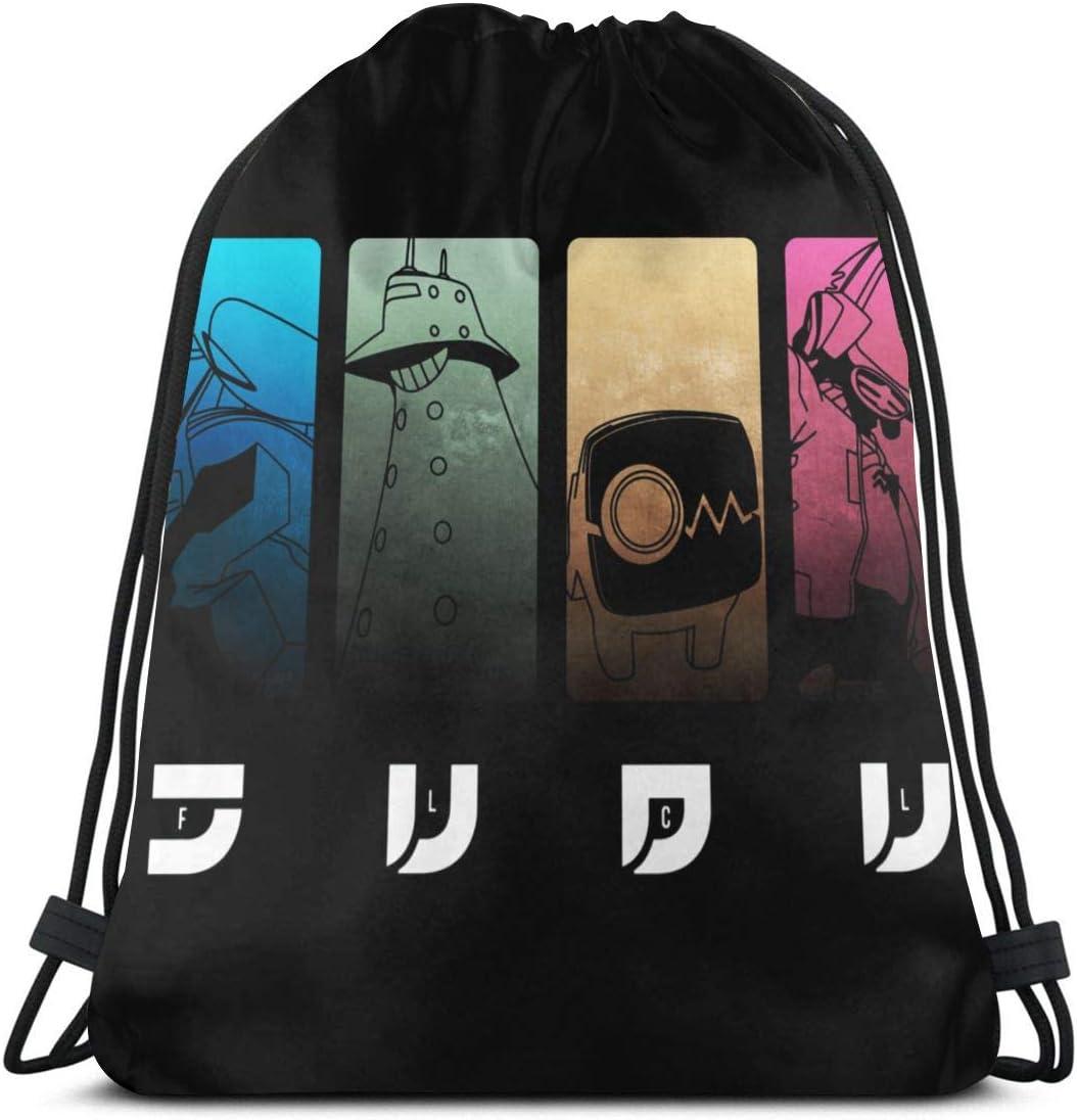 Anime movie FLCL Progressive Backpack Art Knapsack School Bag Student Bag Gift