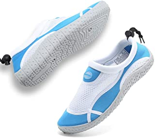 GLOBTOUCH Boys Girls Water Shoes Toddler Breathable...