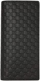 [グッチ] GUCCI 長財布 2つ折り アウトレット マイクログッチシマ 544479 BMJ1N 1000 BLACK ブラック