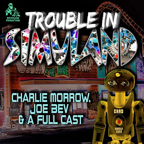 Trouble in Simuland audiobook cover art