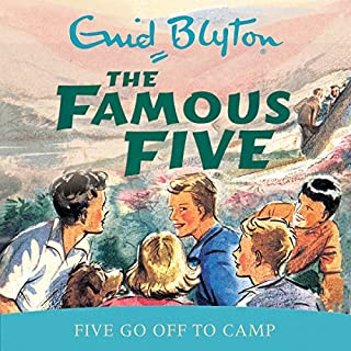 Famous Five: Five Go Off To Camp cover art