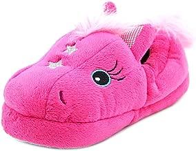 Stride Rite Little Girls Fuchsia Magic Pony Slippers