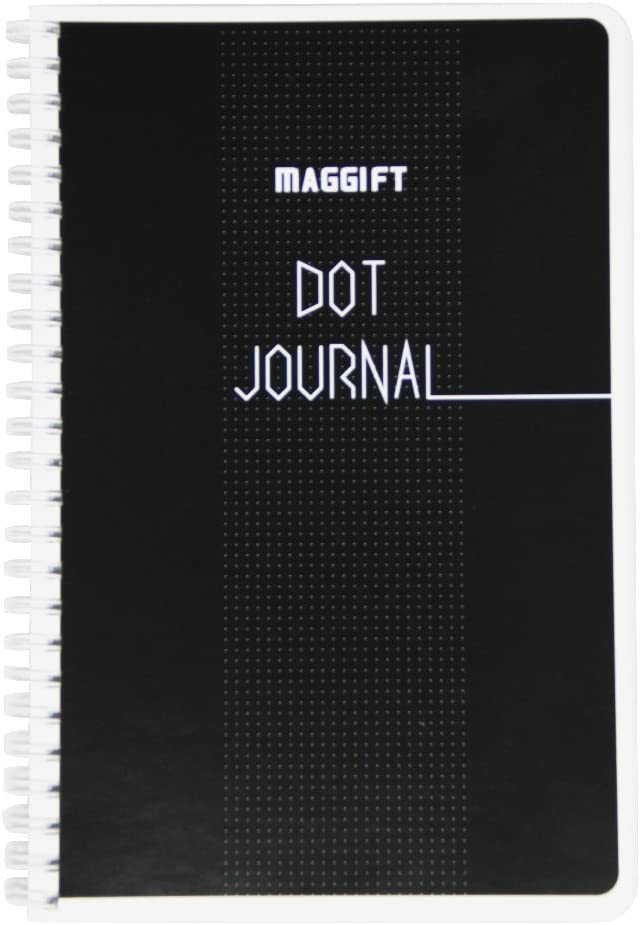 2021 Atlanta Mall autumn and winter new Maggift Dot Journal Spiral Bullet Notebook 120 pages
