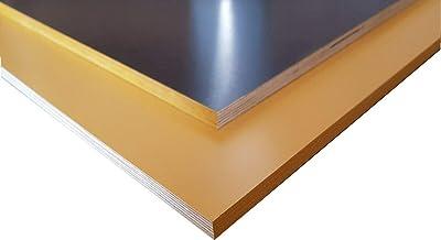 125 x 60 cm Siebdruckplatten gelb braun 9mm 35/€m/² Siebdruckplatte Siebdruck Sperrholz Birke Anh/änger