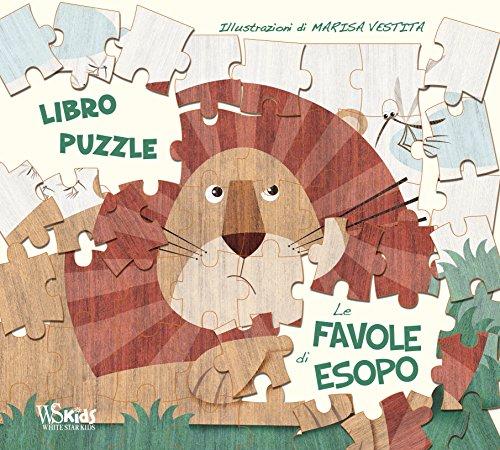 Le favole di Esopo. Libro puzzle