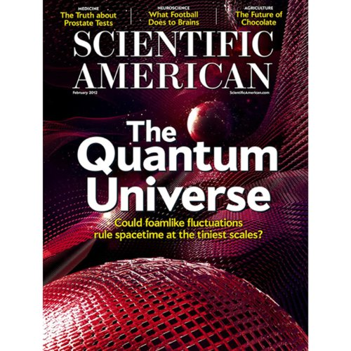 Scientific American, January 2012 audiobook cover art