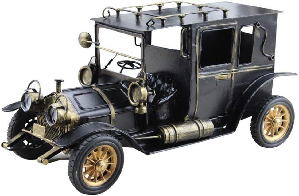 IREANJ Black European Ranking TOP14 and American Retro Classic Iron Sheet Financial sales sale Car