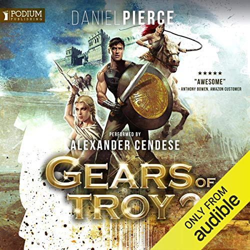 Gears of Troy 2 audiobook cover art