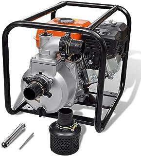 Festnight Bomba de Agua con Motor de Gasolina - 3600rpm 3,6L 5,5HP