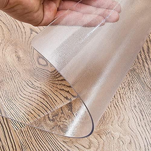 ZXFB Mantel Rectangular de PVC, Impermeable Lavable Manteles, Manteles Plastico para Interiores Y Exteriores para Cocina Comedor Mesa Buffet Mantel de La Tabla