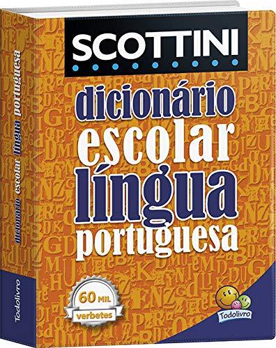 Scottini Dicionário 60 mil Verbetes: Língua Portuguesa (PVC)
