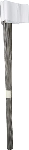 IRWIN Tools Stake Flags 2 Inch By 3 Inch By 21 Inch White 100 Pack 2034204