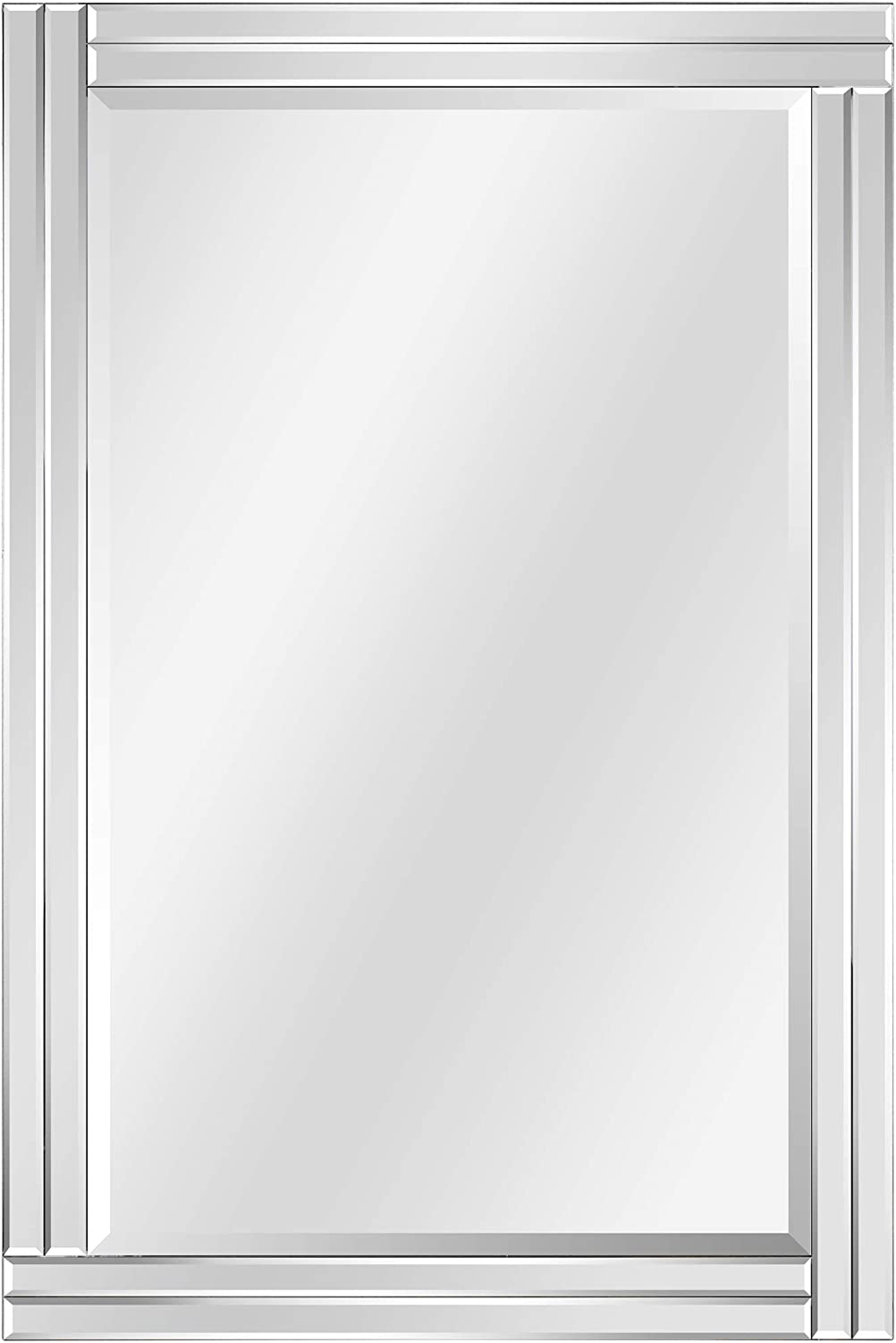 Washington Mall Empire Art Direct Modern Stepped Popular shop is the lowest price challenge Rectangle Vanit for Wall Mirror