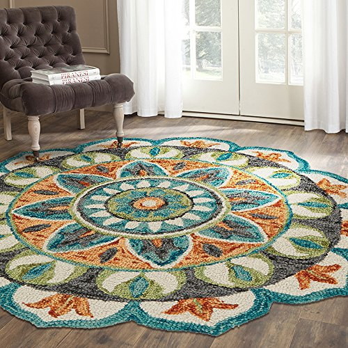 LR Home Dazzle Area Rug, 6
