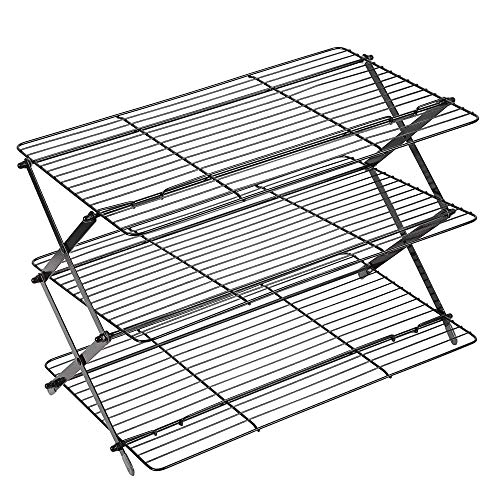 Wilton 3-Tier Collapsible Cooking and Baking Cooling Rack