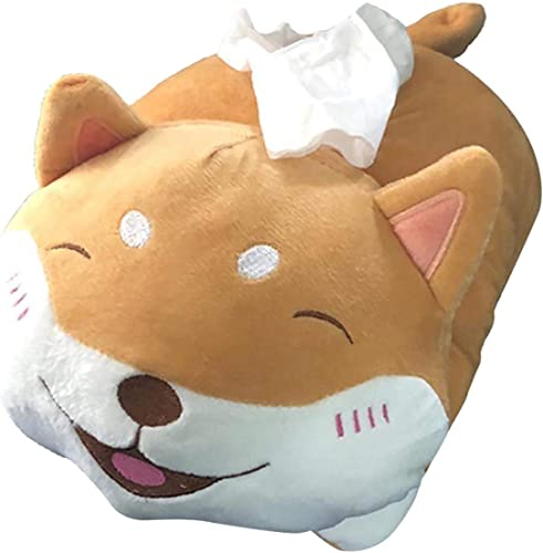 high quality Plush Animal Toy Style online Anime Paper Box high quality Holder Tissue Box Cartoon Toy Tissue Paper Holder Napkin Box Paper Storage Box Tissue Tray Paper Container for Car Home Bathroom outlet online sale
