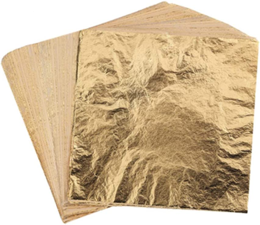 1000 Sheets Leaf SEAL limited product Imitation Gold Lea Silver Rose Cheap bargain
