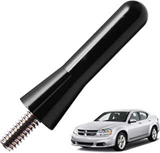 JAPower Replacement Antenna Compatible with Dodge Avenger 2007-2010 | 2 inches-Black