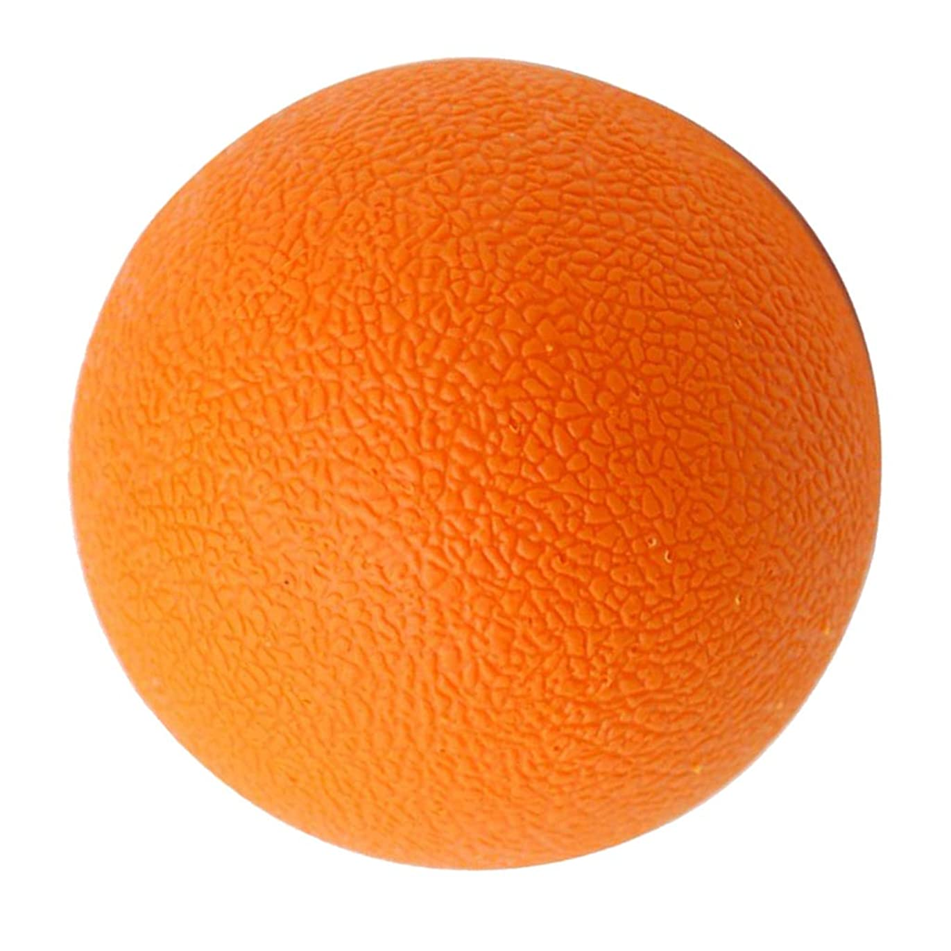 ネブファンドハンディキャップラクロスボール マッサージボール トリガーポイント 筋膜リリース 背中 首 ツボ押しグッズ オレンジ