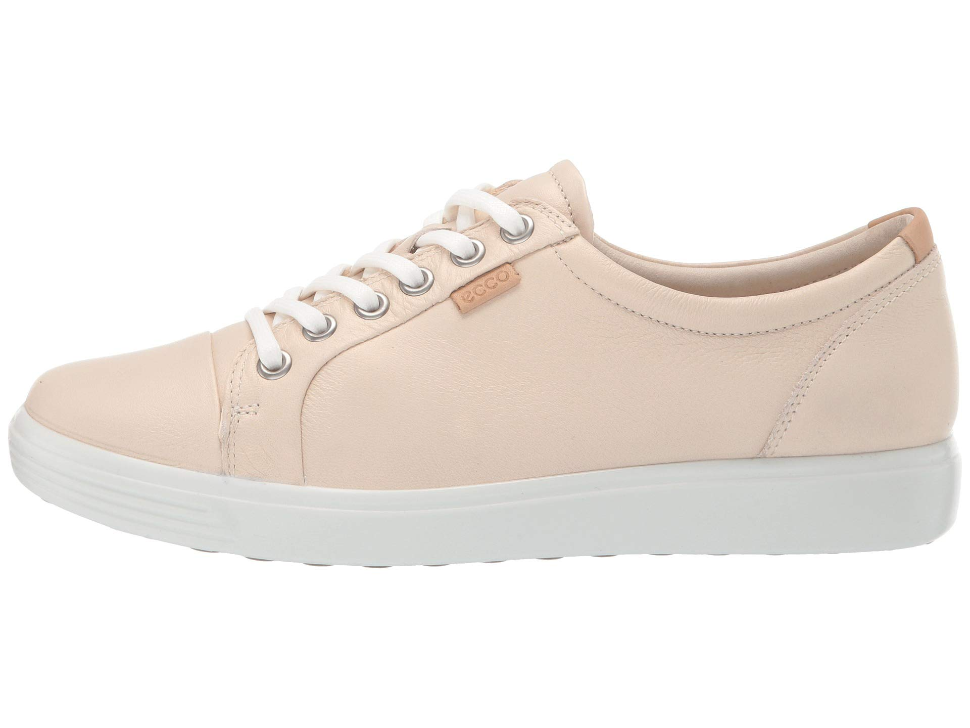 Metallic Cow Sneaker Soft Vanilla Leather Ecco 7 x1XIqnxA