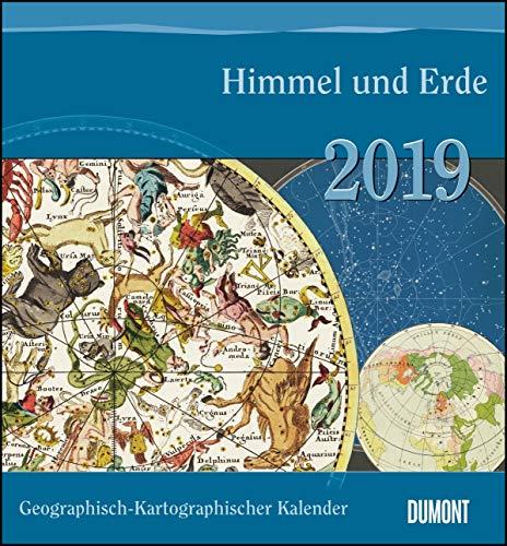 Geographisch-Kartographischer Kalender 2019 – Himmel und Erde – Historische Landkarten
