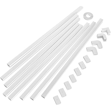 Keinode 3 Channel Electrical Wire Cable Cover Floor Cord Covers Ramp Guard Warehouse Cord Protector UK