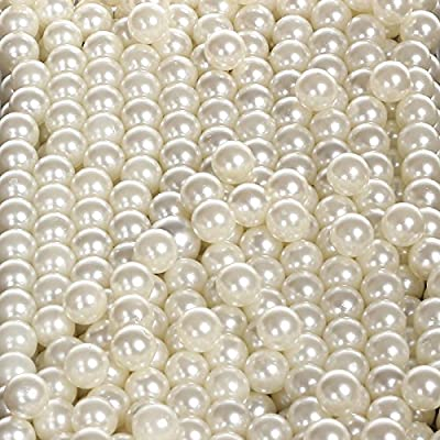 Sooyee Art Faux Pearls Loose Beads no Hole 1.1 Lbs